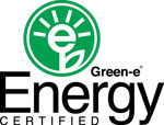 Green-E certified renewable energy.