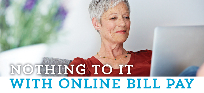 Online bill payment is easy, and free!