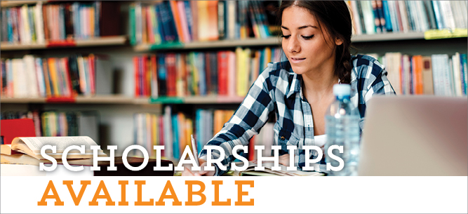 Scholarships are available