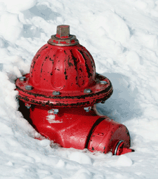 Keep your fire hydrant clear of snow.